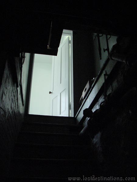 dark basement stairs. Simple Basement Gulick Mansion With Dark Basement Stairs L